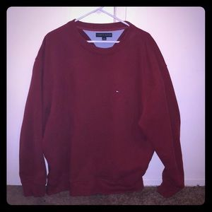 Tommy Hilfigher Red Sweater